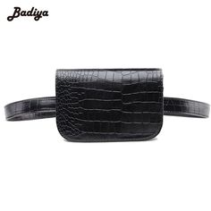 8f84be7bf55a Alligator 2017 Latest Fashion Women Waist Pack PU Leather Belt Waist Bag  Ladies Portable Phone Case Female Fanny Pack Review