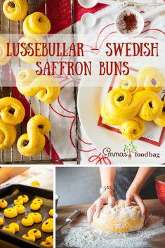 Lussebullar – Swedish saffron buns. Light Take, Buns, Doughnut, Notes, Dishes, My Favorite Things, Breakfast, Desserts, Food
