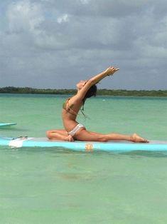 SUP YOGA Tulum in Tulum, Quintana Roo #YogaPhotography