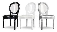 chaise medaillon dossier plexi transparent polka glossy 2 mobiliermoss Transparent, Plexus Products, Decoration, Chair, Architecture, Furniture, Images, Home Decor, Arquitetura