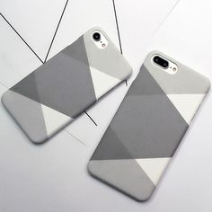 Cheap phone silicon case, Buy Quality case two directly from China phone case brand Suppliers: Luxury Hard Frosted Case For iphone 7 Case Fashion Abstract Geometry Splice Triangle Graphic Phone Cases For iphone 7 Plus Cover Funny Phone Cases, Girl Phone Cases, Pretty Iphone Cases, Diy Phone Case, Phone Jokes, Iphone 6, Iphone Phone Cases, Iphone Case Covers, Iphone 7 Plus