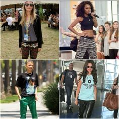 Athletic inspired style quotients flaunted by celebs in sporty women's clothing