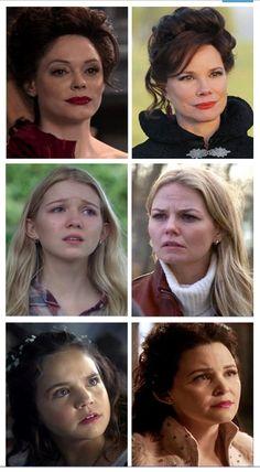 Me pergunto como a esquipe da série encontra atores tão parecidos
