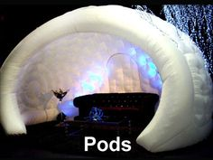 snow dome interactive inflatable - Perth Hire