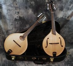 Breedlove OF and OO Mandolins.