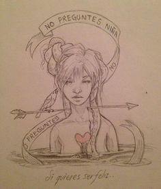 Amazing sketches by Chiara Bautista