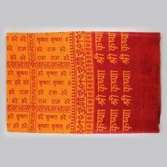 Hare Rama Hare Krishna shawl
