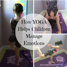 Are you looking for a simple way for your children to unwind and get in touch with their emotions? The yoga mat can serve as a retreat from the pressures and stress that they face every day. Yoga offers so many incredible benefits to our children includin Parenting Advice, Kids And Parenting, Toddler Yoga, Baby Yoga, Ju Jitsu, Qi Gong, Yoga For Kids, Children Exercise, Coping Skills