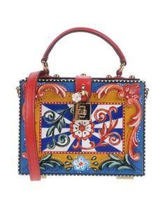 DOLCE & GABBANA Handbag. #dolcegabbana #bags #shoulder bags #clutch #leather #hand bags #