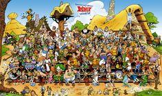 Asterix village