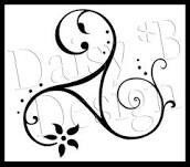 Triskele tattoo design. Symbolizes spirit-mind-body, past-present-future…