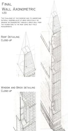 Architecture Drawing Exercises