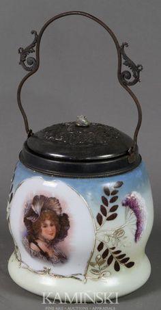 4479: English Biscuit Jar : Lot 4479