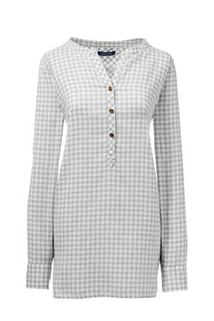 Women's Brushed Flannel Tunic