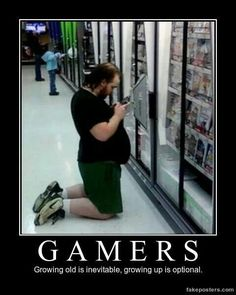 Xbox one s/X Video Games Funny, Funny Games, World Of Warcraft Orc, Warcraft Funny, Xbox One S, Inevitable, Growing Up, Lol, Memes