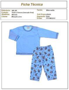 molde de pijama de moletom infantil para meninos Molde De Roupa Infantil cb8551178c098