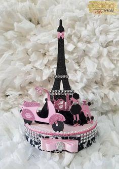 Paris Birthday Cakes, Paris Themed Cakes, Chanel Birthday Party, Paris Themed Birthday Party, Chanel Party, Barbie Birthday, Barbie Party, Birthday Party Themes, Spa Birthday