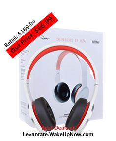 $66.99 WeSC Chambers by RZA Street #Headphones. YOU SAVE $103.01!  Dual 3.5 mm audio jacks for music sharing function. Attach to #iPod, #iPhone, or #iPad for easy listening to your favorite #videos, #vines, #music, or #sounds Includes: In-line volume control/microphone on main cable (3-touch hands free unit)| Twin plug airline system adapter| Adjustable, folding headband | Fabric zipper carry case | Molded ear cushions