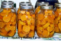With lots of sweet potatoes in storage I started canning the smaller ones. The larger ones will keep a long time but the smaller ones I ...