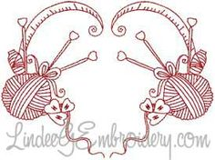 Free Embroidery Design: Redwork Sewing Design - I Sew Free