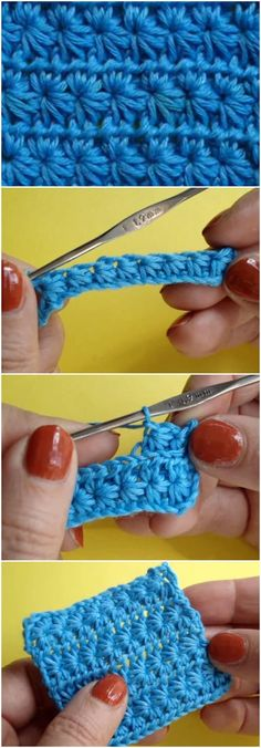 Learn to Crochet Star Stitch
