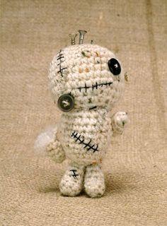 Free Amigurumi Zombie Pattern - cute for Halloween!
