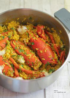 Menuda pinta, ¿verdad? Hoy vamos a aprender a hacer de modo sencillo un delicioso plato de arroz con bogavante , que puede ser perfecto ...