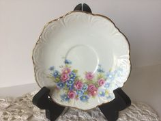 Vintage Royal Ann China Minneapolis MN  Saucer by FindingYesterday