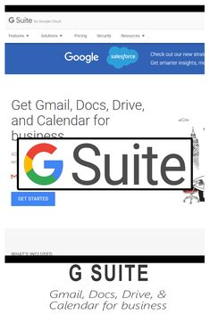 GSuite - Email and Great Apps, Virtual Assistant, Get Started, Insight, Learning, Business, Studying, Teaching, Store