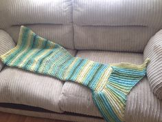 A personal favourite from my Etsy shop https://www.etsy.com/uk/listing/458582414/pattern-mermaid-tail-blanket