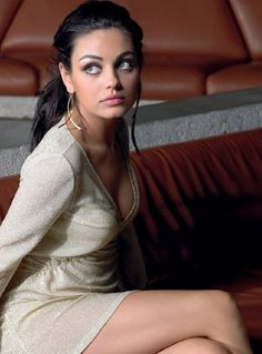 I don't know if there is anyone more naturally beautiful than Mila Kunis