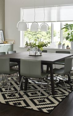 332 best Dining Rooms images on Pinterest | Apartments, Dining room ...