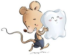 Perez mouse running with a tooth in hands - Dibustock, Ilustraciones infantiles de Stock Popular Stories, Stories For Kids, Tooth Mouse, Tooth Fairy Note, Dental Photos, Dental Life, Maila, Fairy Pictures, Book Of Life