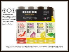 Win a Borderfields Cold Pressed Rapeseed Oil Gift Pack