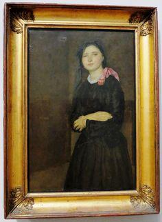 "London_Tate. Gwen_John. Дорелия в чёрном платье"", ок. 1903-1904. Gwen John, Album, London, Painting, Art, Art Background, Painting Art, Kunst, Paintings"