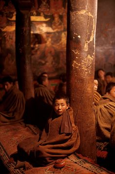 Tibet - photo by Steve McCurry. S)