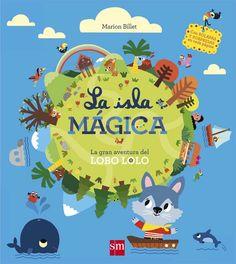 +3 Lolo el lobo tiene que atravesar la isla mágica y para ello deberá cruzar bosques misteriosos, cuevas oscuras y peligrosos túneles. Un libro interactivo con solapas, una rueda que gira, páginas que brillan en la oscuridad y un mapa de la isla. Para niños a partir de 3 años.