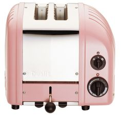 DUALIT Classic 2-Slice Toaster Petal Pink $199.95 LOWEST PRICE ANYWHERE-GUARANTEED...PICK UP OR WE WILL SHIP FREE WORLDWIDE... 100% MONEY BACK SATISFACTION GUARANTEE www.shopculinart.com