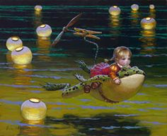 Victor Nizovtsev giclees of fables, fantasy, theatrical and imaginative art, Fantasy Kunst, Fantasy Art, Illustrations, Illustration Art, Victor Nizovtsev, Kobold, Fable, Muse Art, Baby Fairy