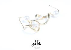 JEWELRY COLLECTION SS/2015  EARRING  1490 THB. / 40 USD   Only one piece  Only one design in the world   CONTACT ORDER : INBOX FACEBOOK  EMAIL ORDER : handicrafts.order@gmail.com BUY IN ONLINE STORE NOW !   فاتن / FATIN  FASHION AND JEWELRY BRAND