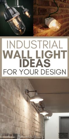 restaurant lighting In need of some industrial light ideas Here is your ultimate guide with products to industrial lighting. These industrial wall lights will transform your design, whether its a restaurant, your home or a bar. Restaurant Lighting, Bar Lighting, Kitchen Lighting, Home Lighting, Outdoor Lighting, Lighting Ideas, Unique Lighting, Lighting Solutions, Sconce Lighting