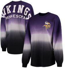 d5b7942c8 Minnesota Vikings NFL Pro Line by Fanatics Branded Women s Spirit Jersey  Long Sleeve T-Shirt - Purple Black