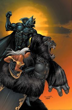 Arguably the first popular black superhero the Black Panther has firmly established himself in the Marvel universe as a figure of honor and strength of character. Description from pinterest.com. I searched for this on bing.com/images