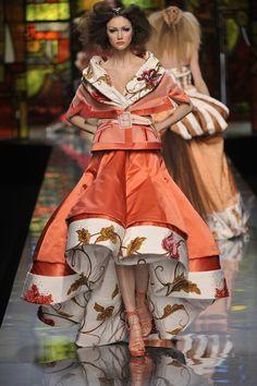 John Galliano voor Christian Dior Haute Couture Show, spring/summer 2009, Paris Fashion Week