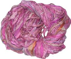 Hey, I found this really awesome Etsy listing at https://www.etsy.com/listing/203912432/recycled-sari-silk-ribbon-yarn35-oz-100