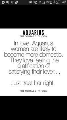 How to make love to an aquarius woman