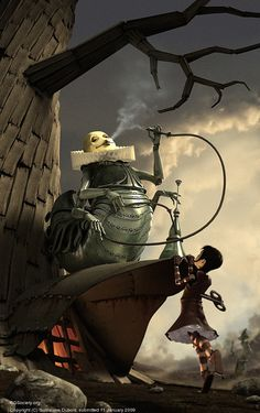 CGTalk - Steampunk Myths and Legends Entry: Guillaume Dubois