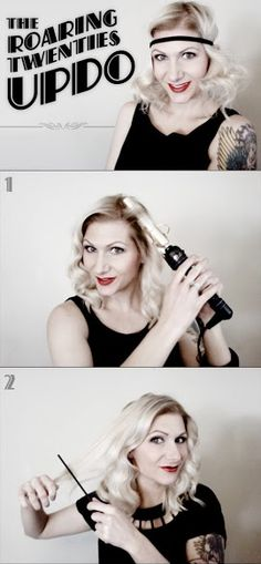 Great Gatsby Waves Tutorial