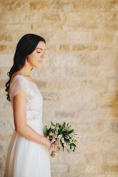 wedding dress | Matthew Morgan | Sunstone Winery California