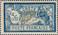 French Post Crete - Postage stamps - 1902-1903